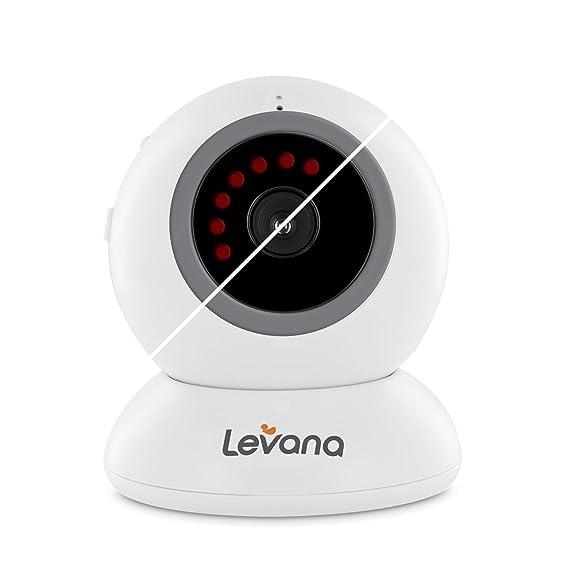 Levana Alexa Fixed Camera, White by Levana: Amazon.es: Bebé