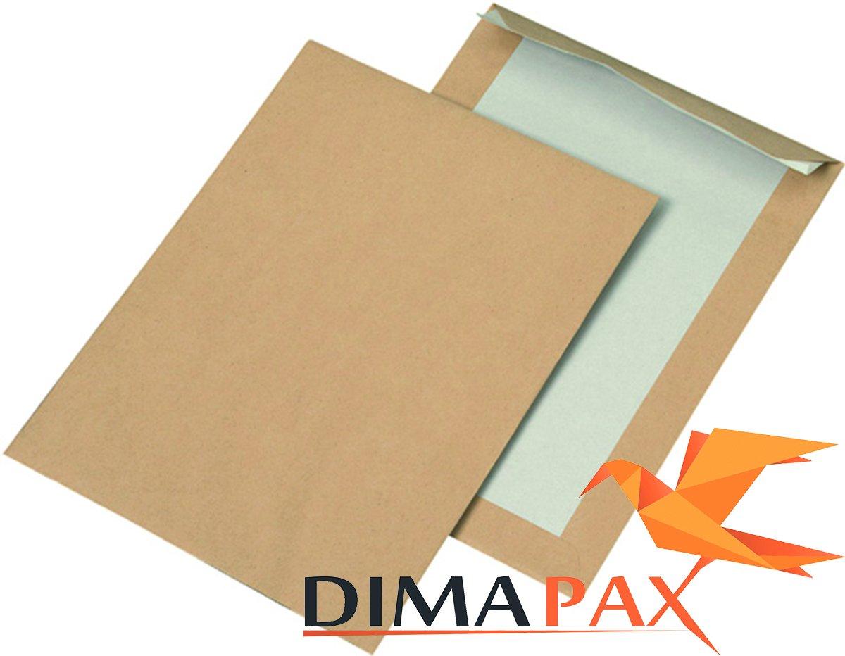 Dos Carton Enveloppes DIN B5Marron 2000pièces dimapax