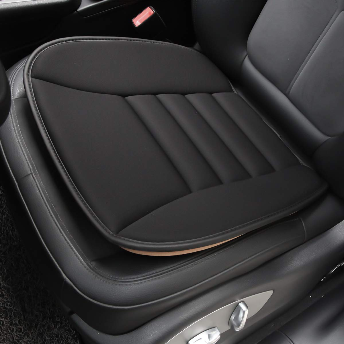 Aukee Car Seat Cushion, Office Chair Wheelchair Mat Memory Foam Pad Back Sciatica Pain Relief