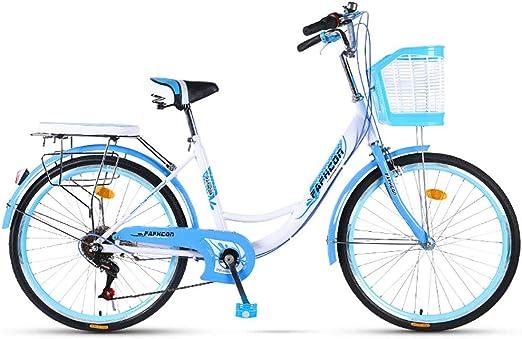 FJW 6 velocidades Bicicleta Unisex 24 Pulgadas 26 Pulgadas Acero ...