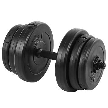 giantex ajustable Tapa Platos de pesas gimnasio de entrenamiento Set de mancuernas Peso 64,44,33lbs: Amazon.es: Deportes y aire libre
