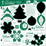 Hot Off The Press - Christmas Iris Folding Template