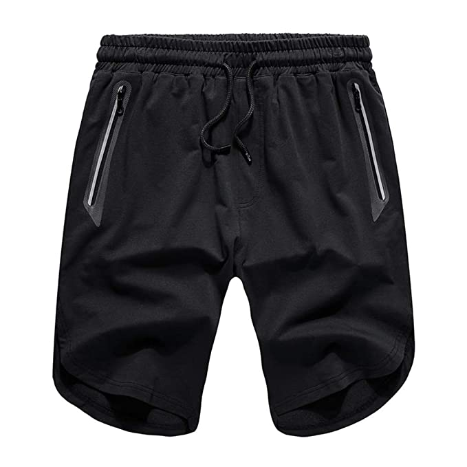 Amazon.com: iLXHD Pantalones cortos para hombre, estilo ...