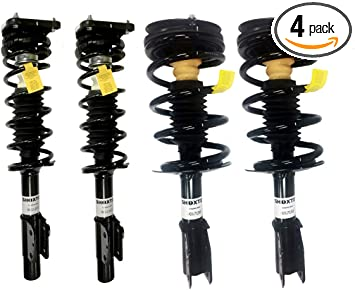 Rear Suspension Shock Absorber Pair For Chevrolet Malibu