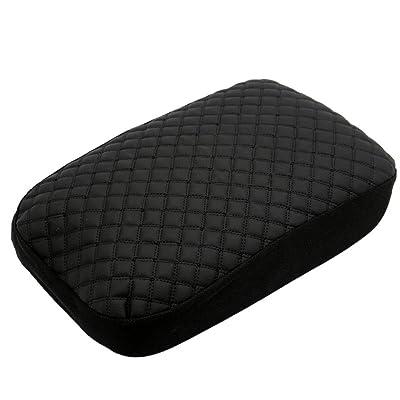 Ezzy Auto Black Center Console Lid Suture Cover Console Armrest Lid Box fit for Honda Pilot: Automotive
