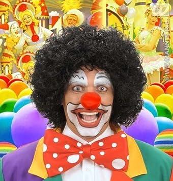 Large Black Afro Wig Clown Michael Jackson Pulp Fiction Fancy Dress (peluca)