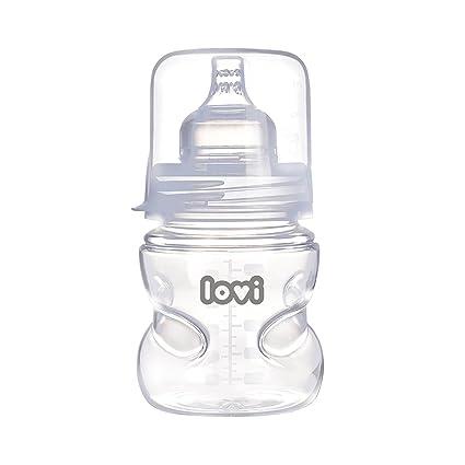 LOVI SUPERvent - Biberón con tetina dinámica autoesterilizable, 150 ml