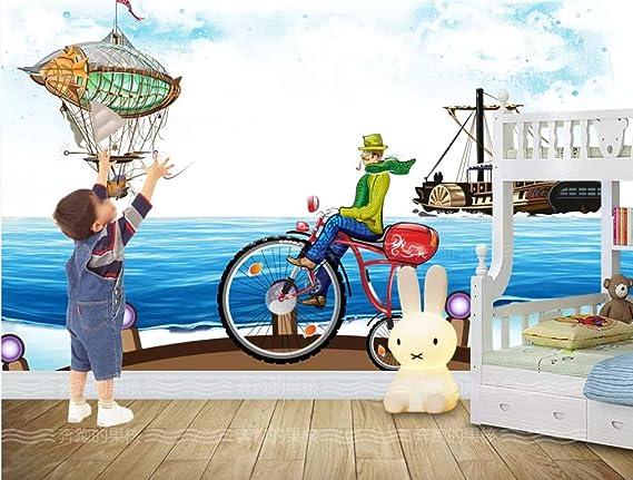 Bicicleta De Nave Espacial De Dibujos Animados Dormitorio ...
