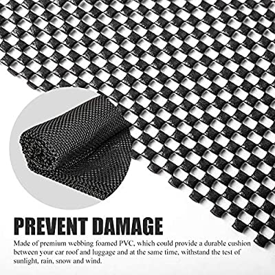 FieryRed Roof Cargo Bag Protective Mat, 51