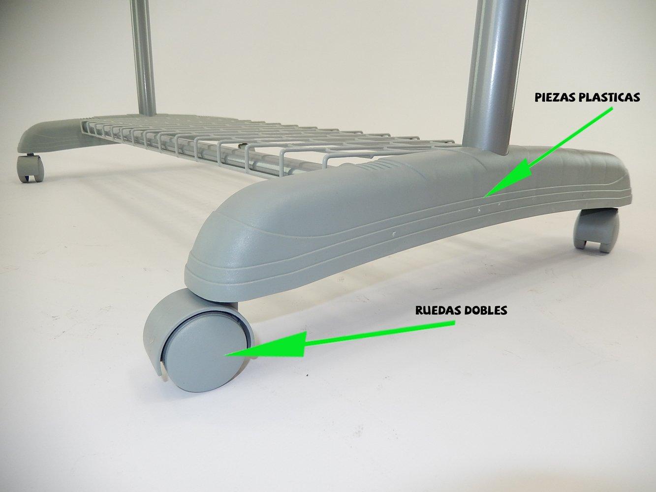 Oralys - Perchero Burro de ruedas extensible para ropa ...