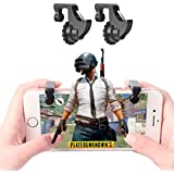 KACOOL Triggers Fortnite PUBG Mobile Controller with Gaming Trigger Fire Button Aim Key, Battle Royale L1R1 Sensitive Shoot for Adult Kids - 2 Pieces