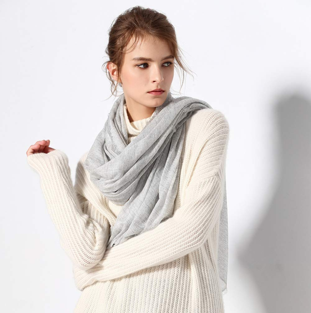 Women's Plaid Blanket Scarf Winter Warm Shawl Soft Wrap Scarf Tassel,A