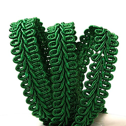 5/8 X 10 Yards Emerald Gimp Braid Trim Paper Mart