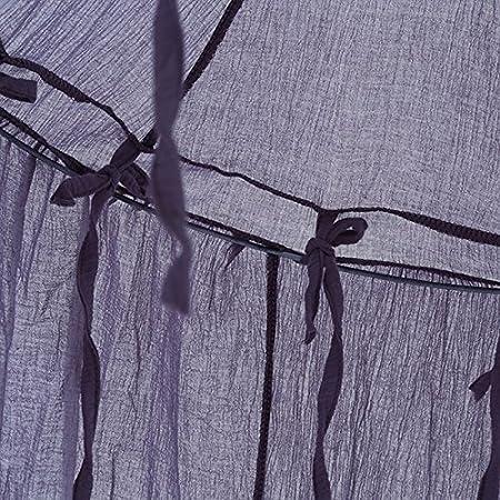 Baumwoll-Leinen 240 cm Rose MENGZHEN 1/Betthimmel Moskitonetz f/ür Kinder Baby rund Dome Kids Indoor Outdoor Castle Play Zelt H/ängende Dekoration House Lesung Nook