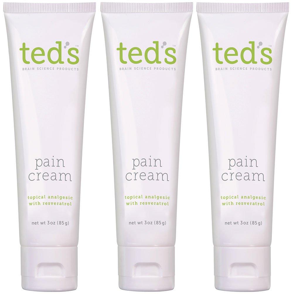 Ted's Pain Cream Three Pack