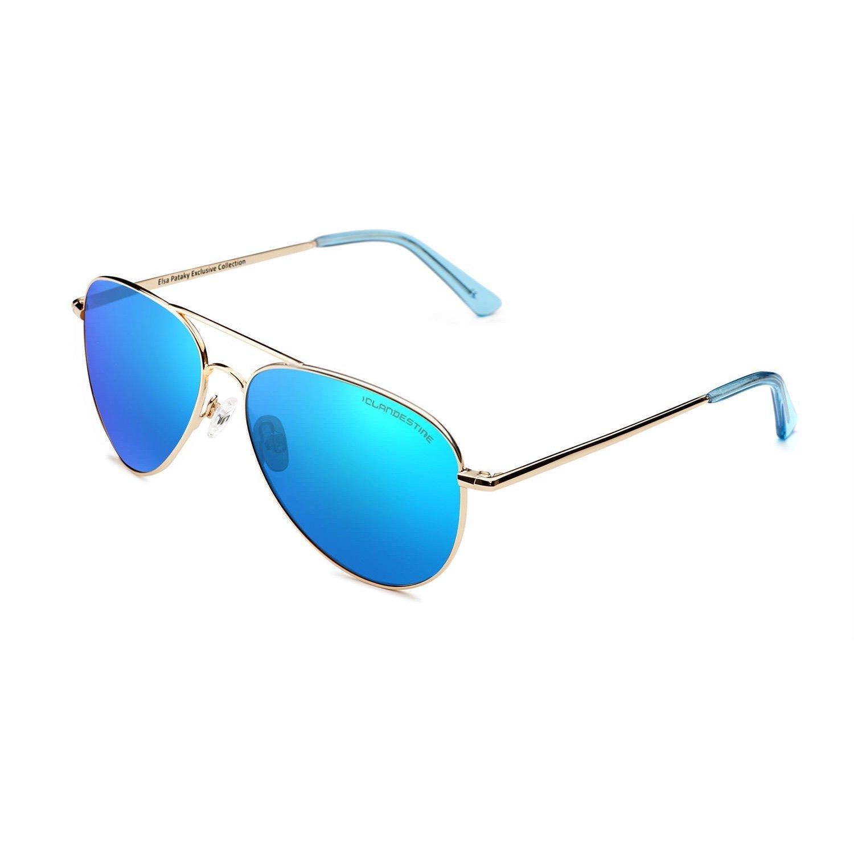 CLANDESTINE Aviator - Gafas de Sol Polarizadas Hombre & Mujer