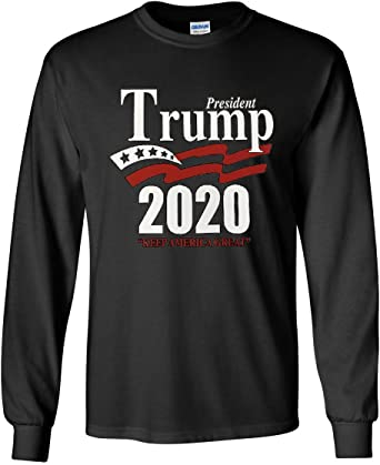 President Trump 2020 Keep America Great Political T Shirt Graphic Tee up to 5XL