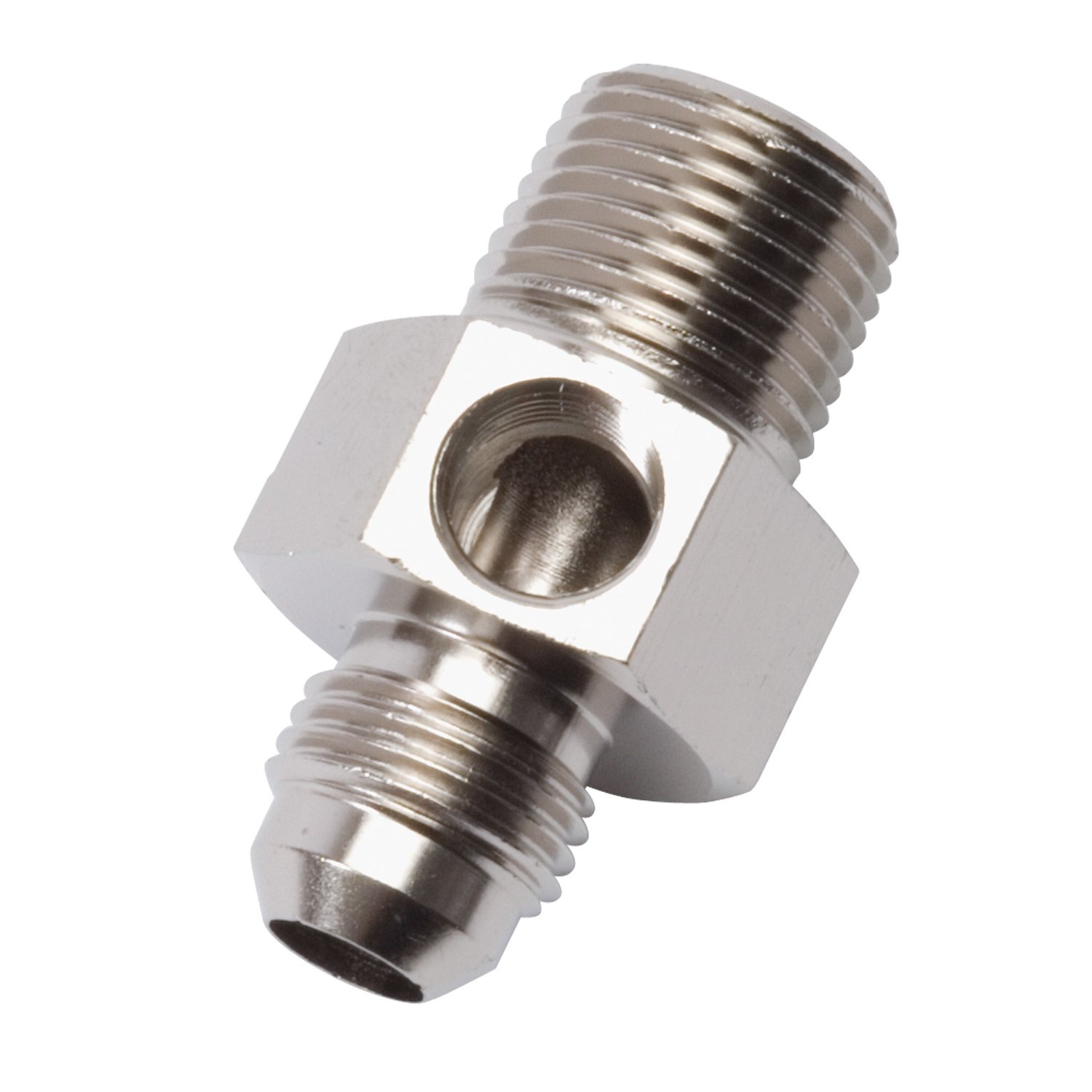 Russell 670061 Endura -6AN Flare to Pipe Pressure Adapter