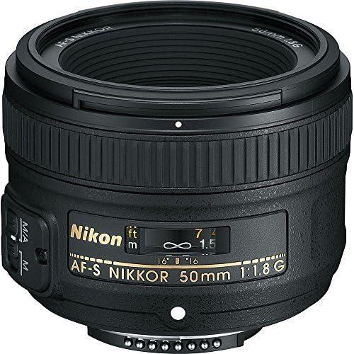 Lens Cleaning Pen Bundle 6 58mm 3 Piece Filter Set Lens Hood UV, CPL, FL + 58mm +1 +2 +4 +10 Close-Up Macro Filter Set Lens Cap Nikon?AF-S NIKKOR 50mm f//1.8G Lens