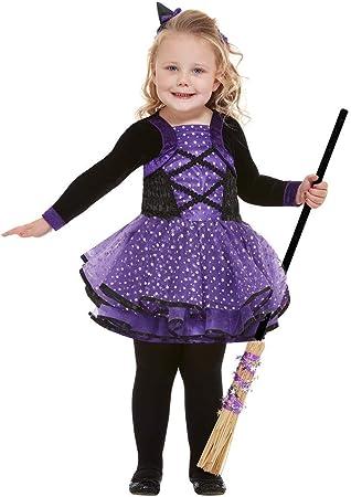 Smiffys 61127T1 - Disfraz de bruja de estrella para niño, color ...