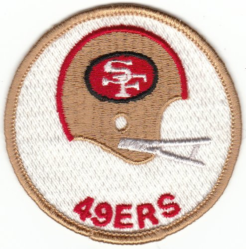 49ers patches sew on - 2