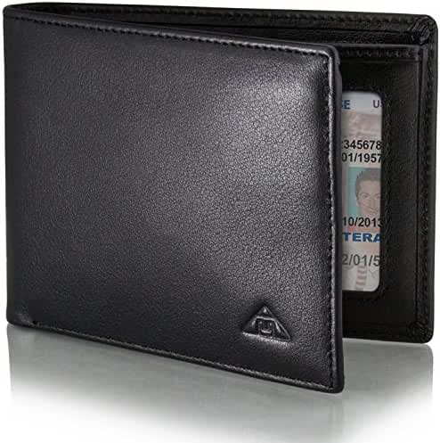 Motion Trend Men's RFID Wallet - Leather RFID Blocking Wallet