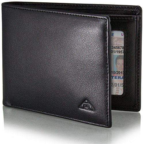 Leather Slim Billfold Wallet (Motion Trend Men's RFID Wallet - Leather RFID Blocking Wallet Slim)