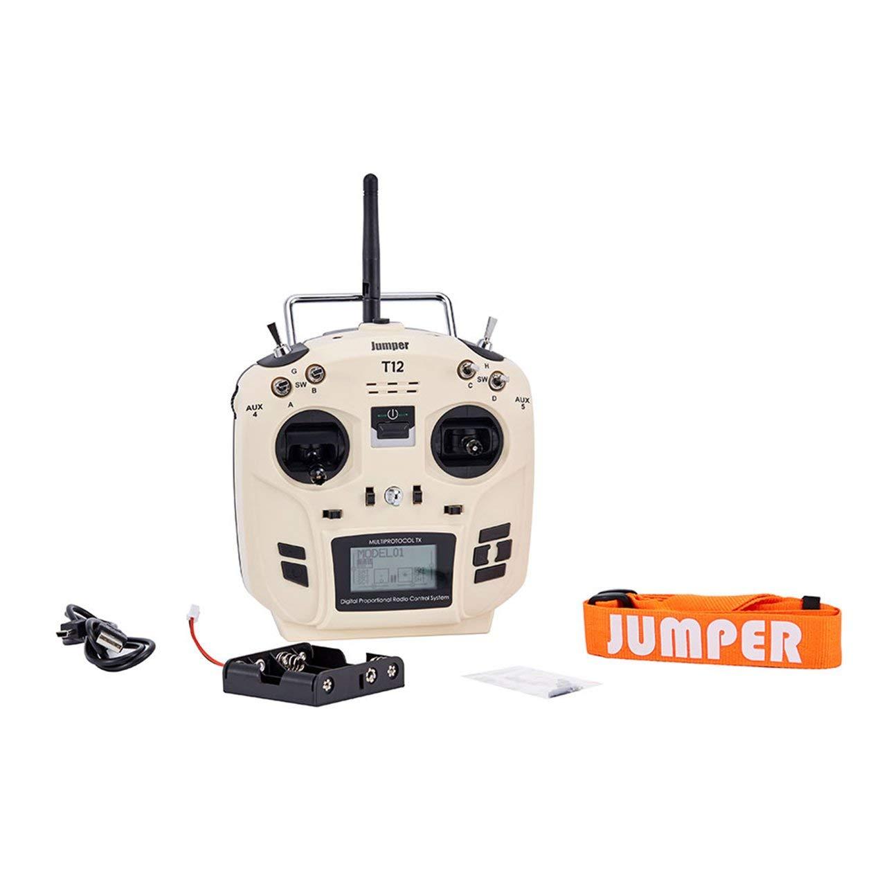 Liobaba Jumper OpenTX 12ch Transmitter Radio JP4-in-1 Multi-Protocol RF Module White