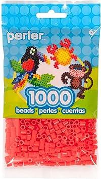 Perler PBB80-19-15211 Beads 1,000/Pkg-Tomato, Tomato
