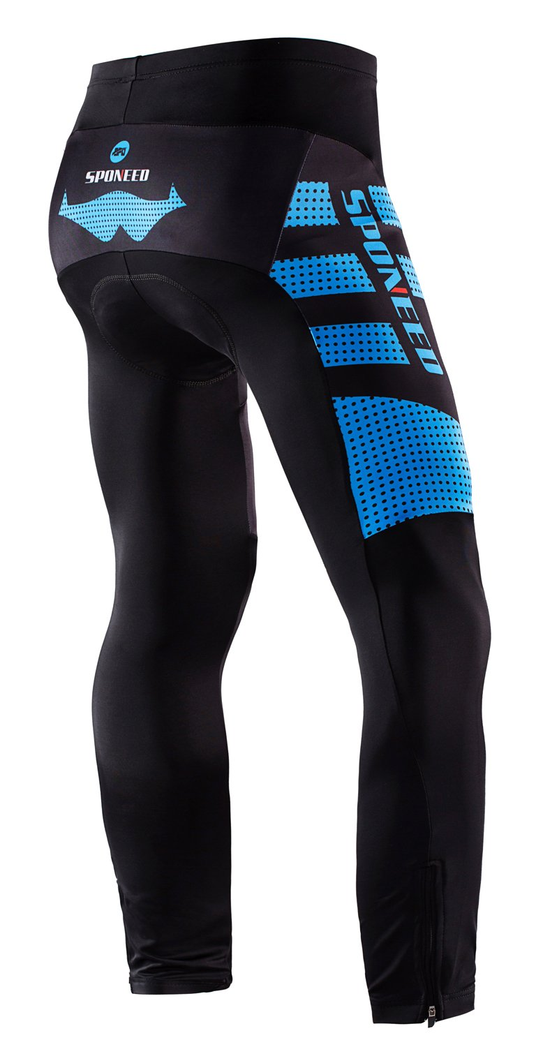 5bc1e20651c81 Amazon.com : sponeed Men's Bicycle Pants 4D Padded Road Cycling Tights MTB  Leggings Outdoor Cyclist Riding Bike Wear : Clothing