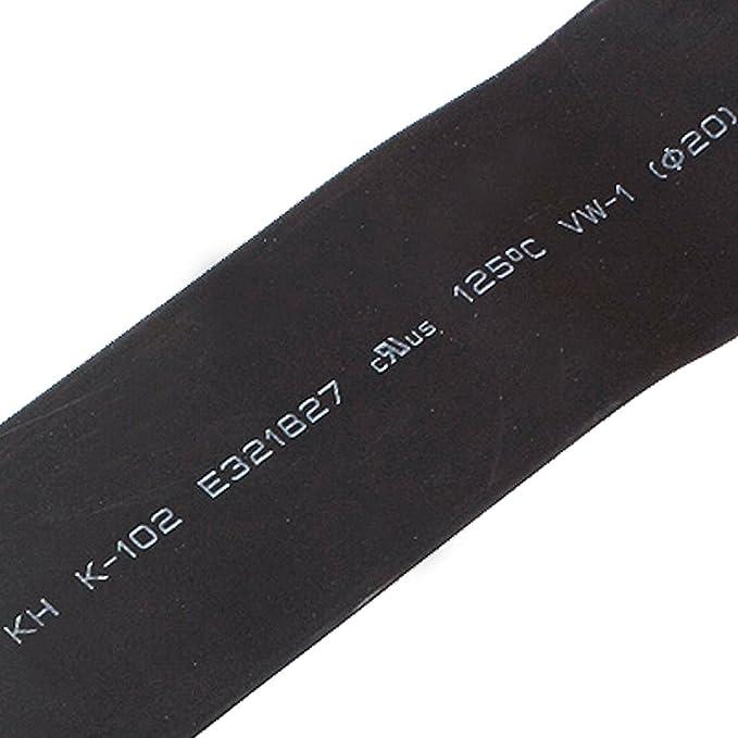 1 opinioni per Tubo nero termorestringente,manicotto avvolgente per cavi,3m x20mm