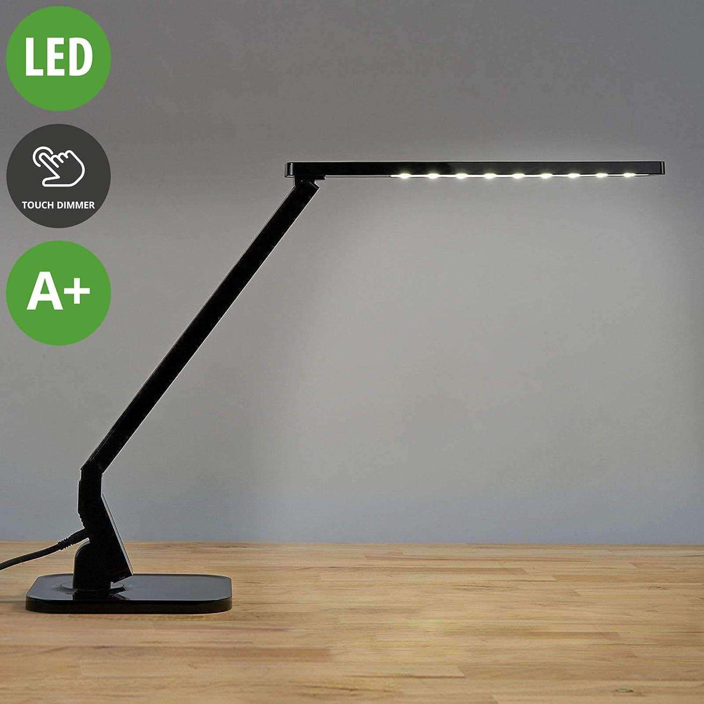 LED Tisch Lampe Touch EinAus Gäste Zimmer Messing Lese