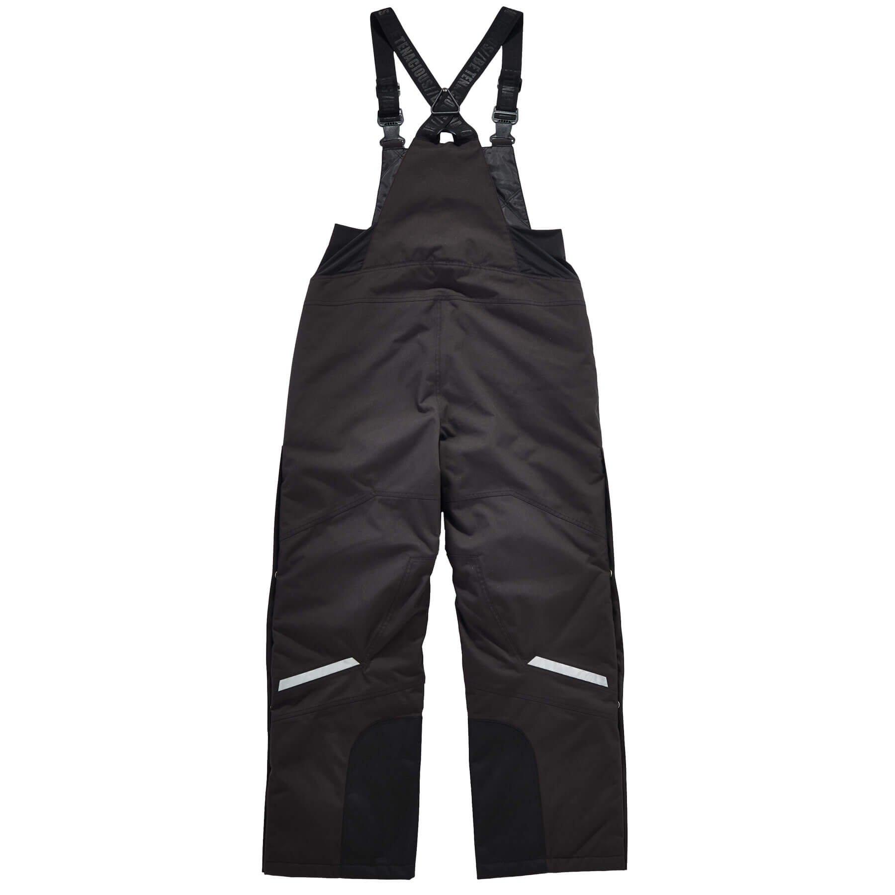 Ergodyne N-Ferno 6471 Men's Winter Thermal Work Bib Overalls, Black, Large by Ergodyne (Image #3)