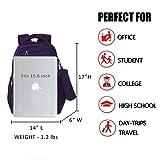 Waterproof Backpack for Women with Pen Case