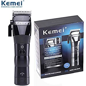 KEMEI Men's Electric Powerful Cordless Styling Tools Hair Clipper Trimmer