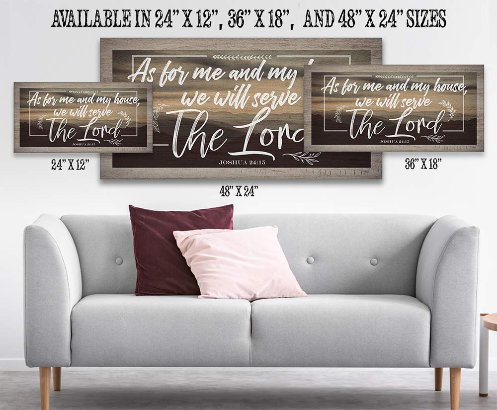 - Stretched on a Heavy Wood Frame Perfect Living Room and Home Decor Ready to Hang Makes a Great Housewarming Gift Under $50 Remember When You Go Not Printed on Wood Large Canvas Wall Art