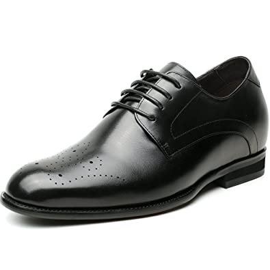 CHAMARIPA Aufzug Schuhe Herren Höhe Zunehmende Casual Leder