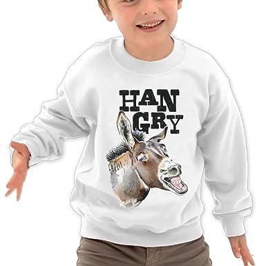 Amazon.com: nvlilo niños Hangry burro con dientes blancos ...
