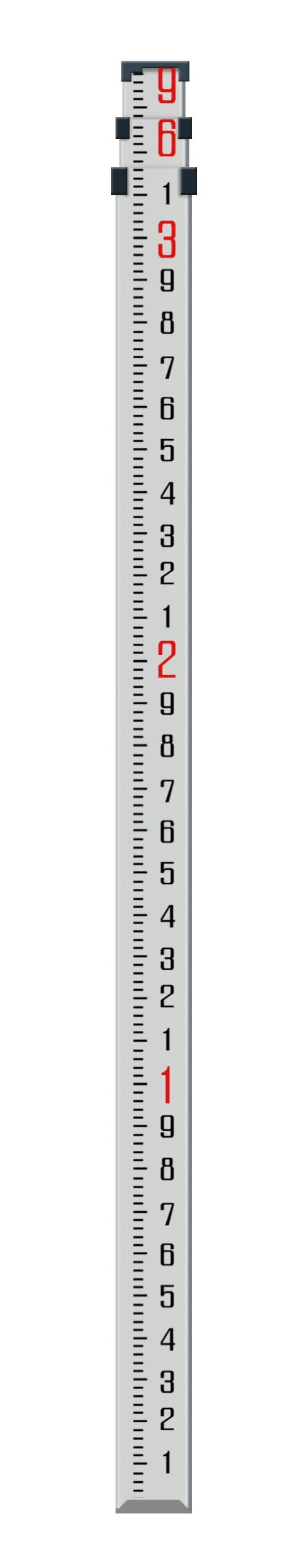 NWI NAR09T 9-Feet  3 Section 10ths Telescopic Aluminum Rod