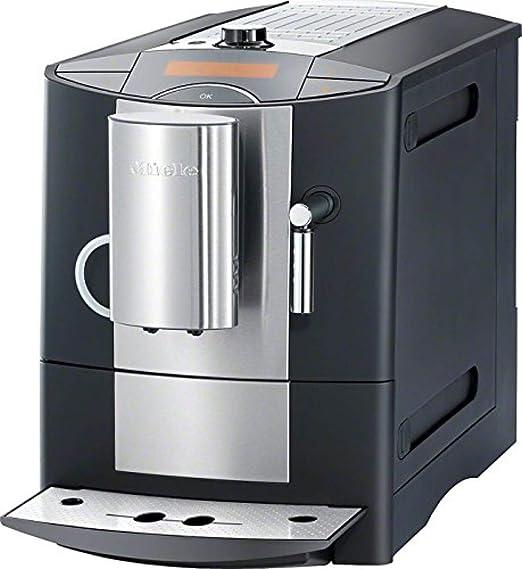 Miele CM 5200 - Cafetera (Independiente, Negro, Plata, Goteo, Granos de café, Café con leche, Capuchino, Café, Café expreso, Leche caliente, Agua caliente, Latte macchiato, 1,8L): Amazon.es: Hogar
