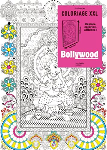 coloriage xxl bollywood 9782012386396 amazon com books