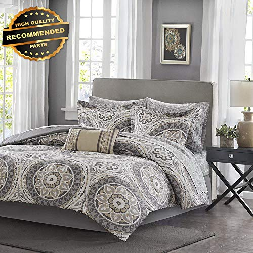 Gatton Premium New Serenity Full Size Bed Comforter Set Bed in A Bag - | Style Collection Comforter-311012766