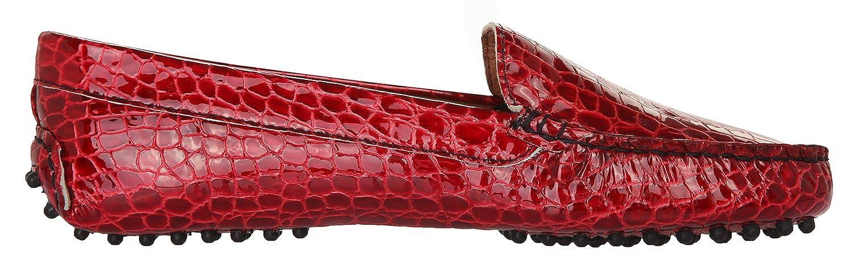 Bruno Magli Mokassins Damen Mokassins Magli Handmade Rot 1000-COCCO-ROSSO, Groesse Eur:39 - f63c4e
