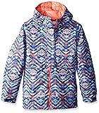 Columbia Girls Snowcation Nation Jacket, Large, Bluebell Print