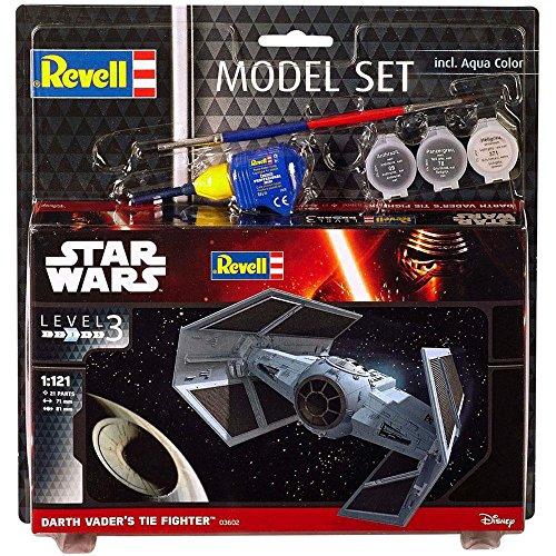 Revell - 63602 - Star Wars - Model Set - Darth Vador Tie Fighter
