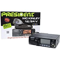 Président Radioaficionado MC Kinley ASC Am FM LSB, USB, SSB 40CH ANL NB Hi-Cut 12 / 24V