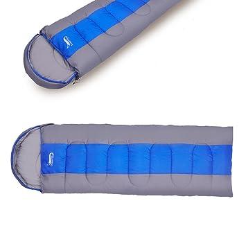 Saco de dormir con verdicketem exterior Sobres para una persona para cualquier época del año: Amazon.es: Deportes y aire libre