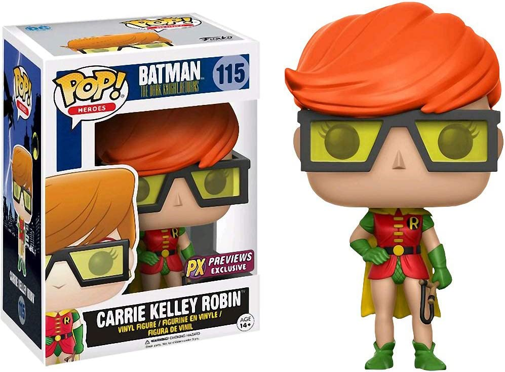 Funko Pop n°115 Heroes Carrie Kelley Robin Batman the dark knight returns