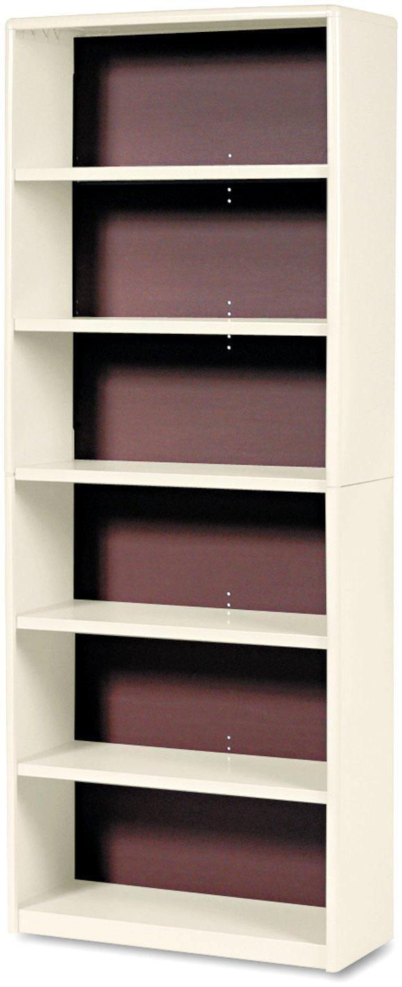 Safco Products 6-Shelf ValueMate Economy Bookcase Tropic Sand, 7174SA