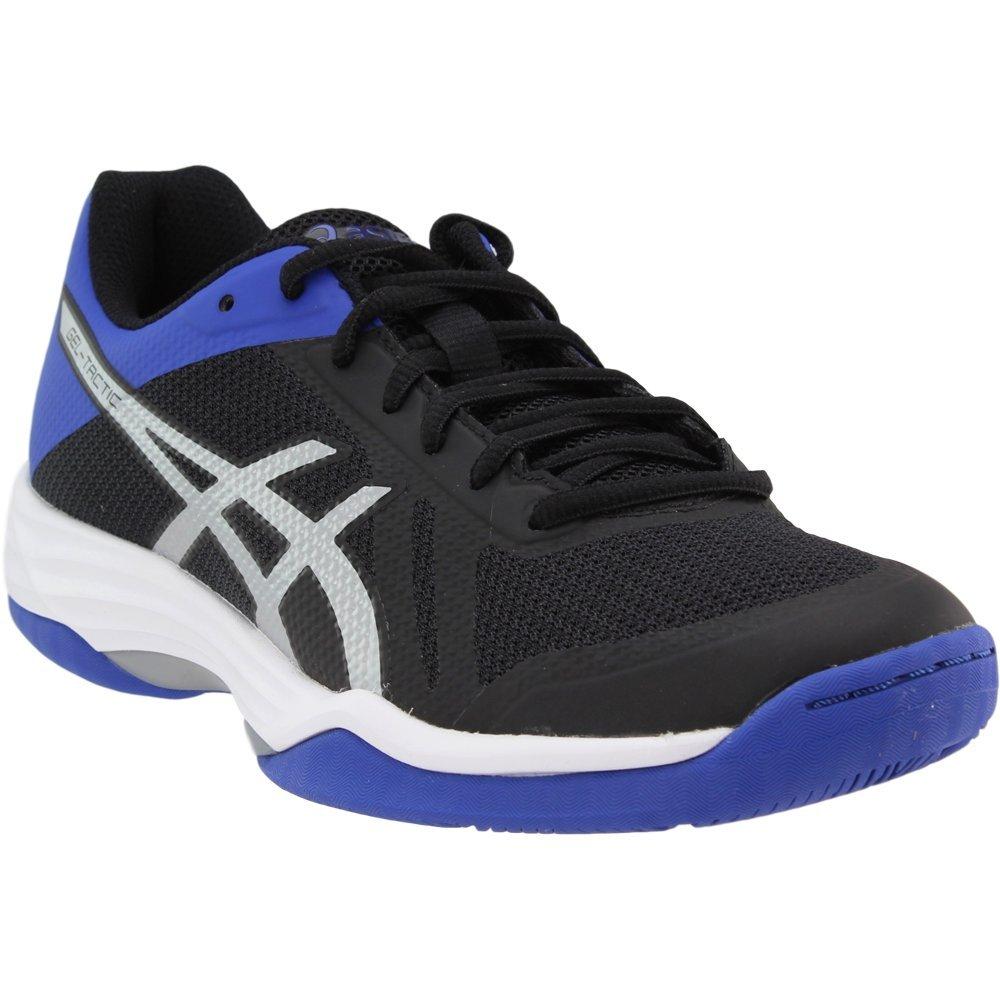 f6de7f38b331c Galleon - ASICS Womens Gel-Tactic 2 Volleyball Shoe Black Blue/Silver, 8.5  Medium US